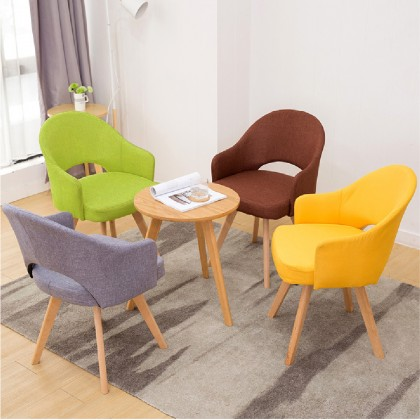 Backrest Chair Colourful Ergonomic Kerusi Sandar Lembut Comfortable