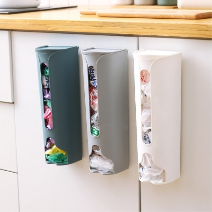 Garbage Bag Storage Box Rak Plastik Sampah Kitchen Bathroom Plastic Bag Collection Box Garbage Bag Storage Rack